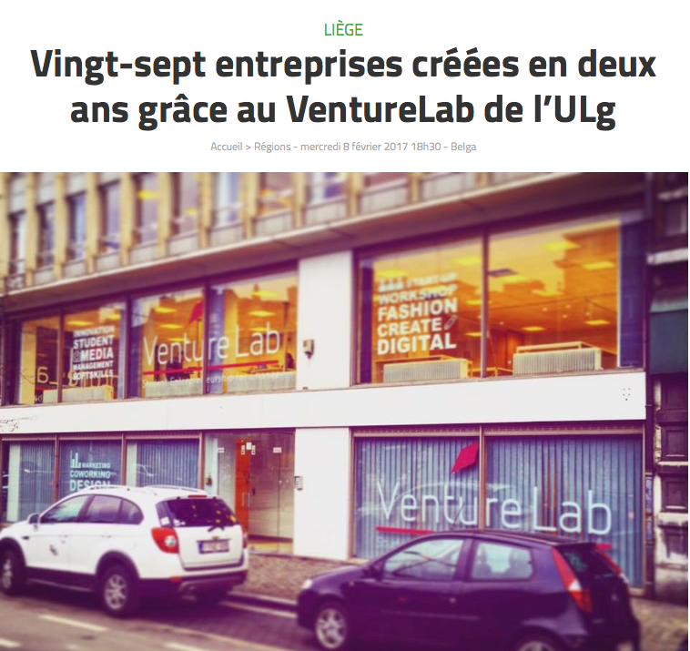 photo du VentureLab pour l'article